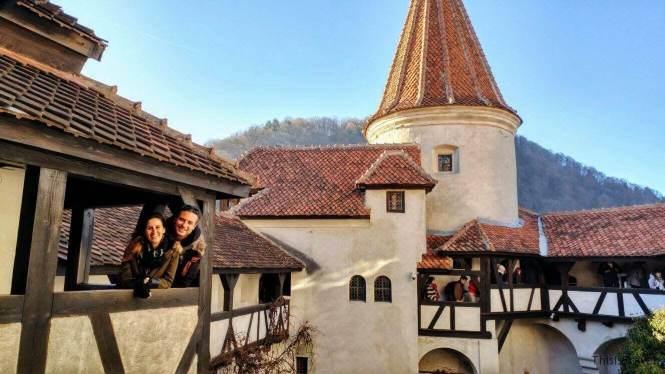 this is travel castillo Bran, Transilvania