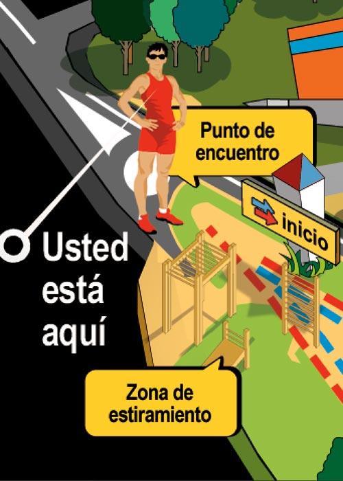 ilustración diseño gráfico ciudad real patronato de deportes 2