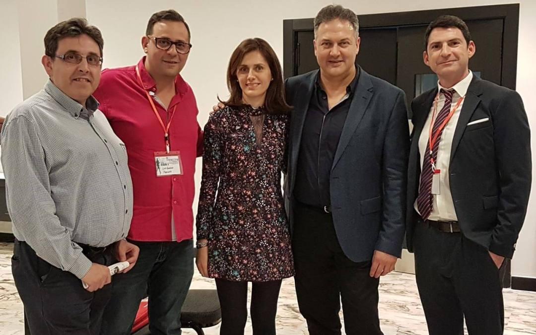 El equipo de Modo en Conecta Empresarios 2018