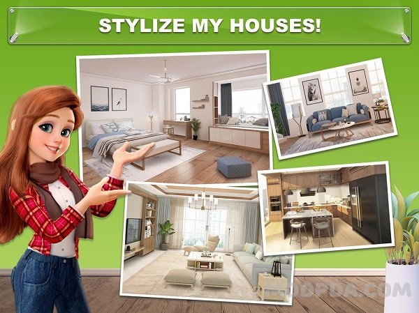 ???? MOD APK - My Home - Design Dreams Unlimited Cash & Coins ...