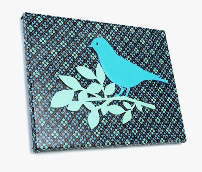 easy fabric canvas art