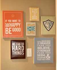 Make DIY Quote Art on Canvas - Mod Podge Rocks