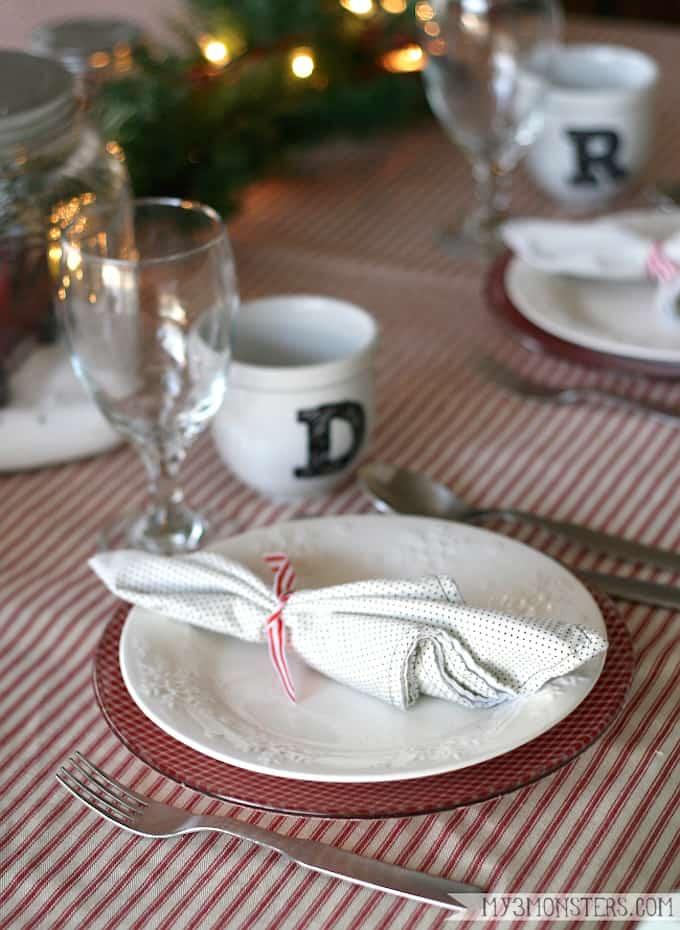 diy holiday plates