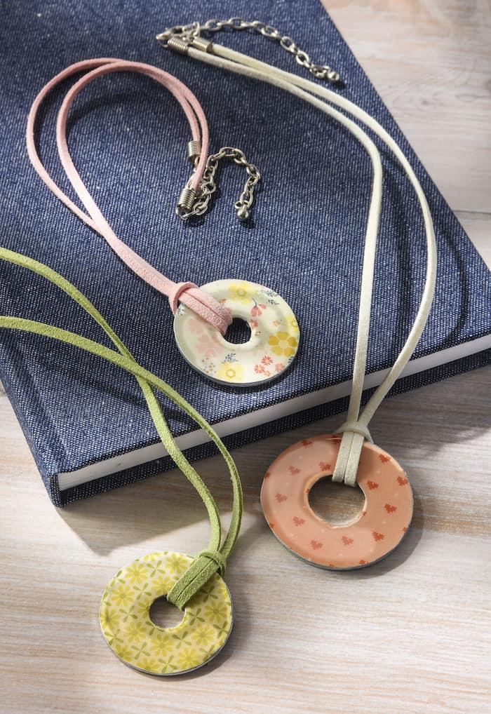 Washer Necklace : washer, necklace, Necklace, Archives, Podge, Rocks