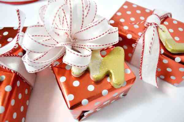 Easy Initial Salt Dough Ornaments And Tags - Mod