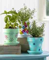 Three Unique Flower Pot Decoration Ideas - Mod Podge Rocks