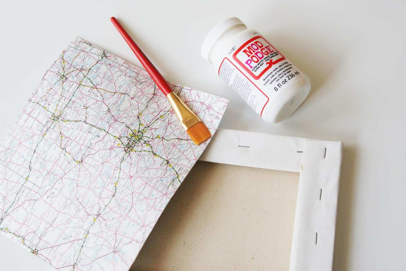 hand lettered map canvas no skills required