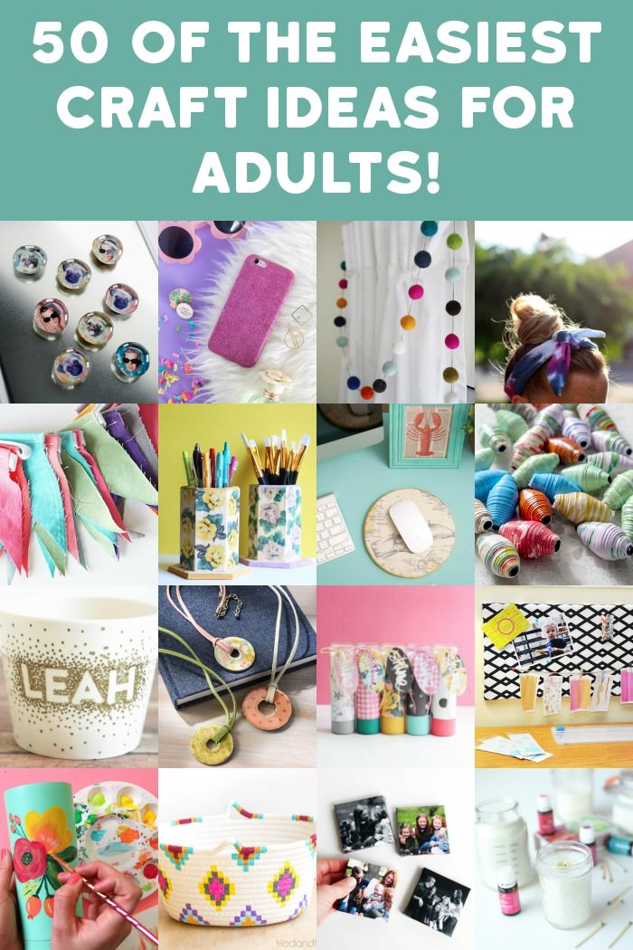 Easy Crafts For Adults 50 Great Ideas To Try Mod Podge Rocks