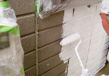 ヘーベル外壁4回塗り 飯能市 築12年3階建て リフォーム にゃんぷ~さん
