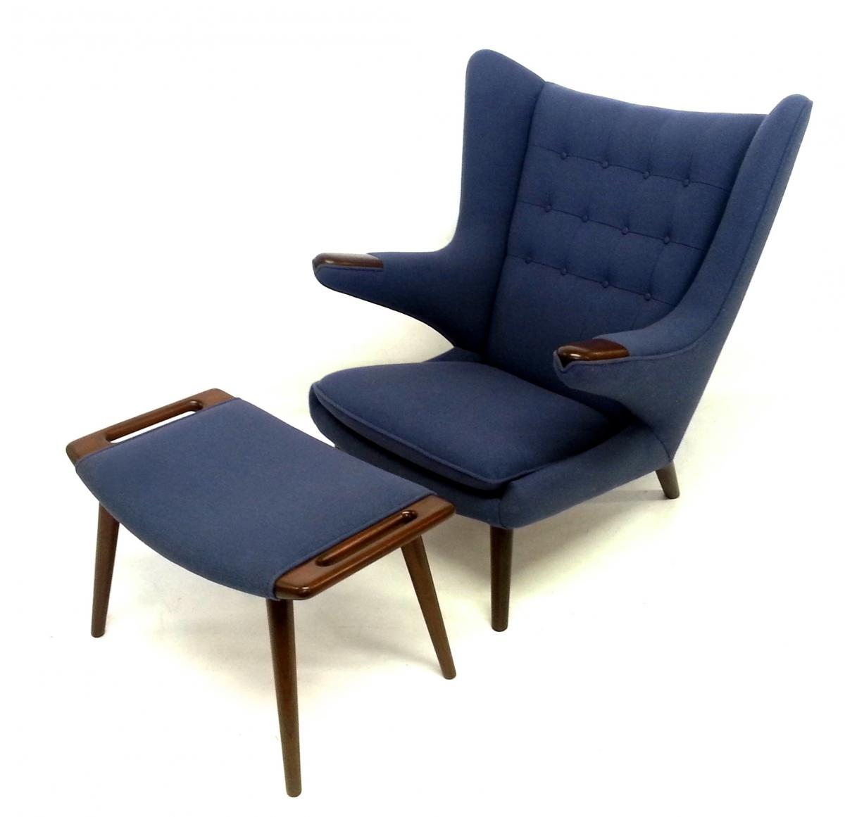 Cost Of Reupholstering A Chair Hans Wegner Papa Bear Chair Reupholstery Brooklyn Ny Mod