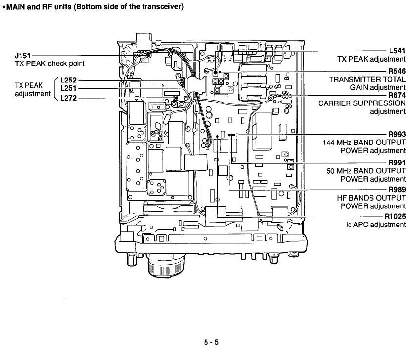 Icom IC-746 :: некоторое увеличение выходной мощности