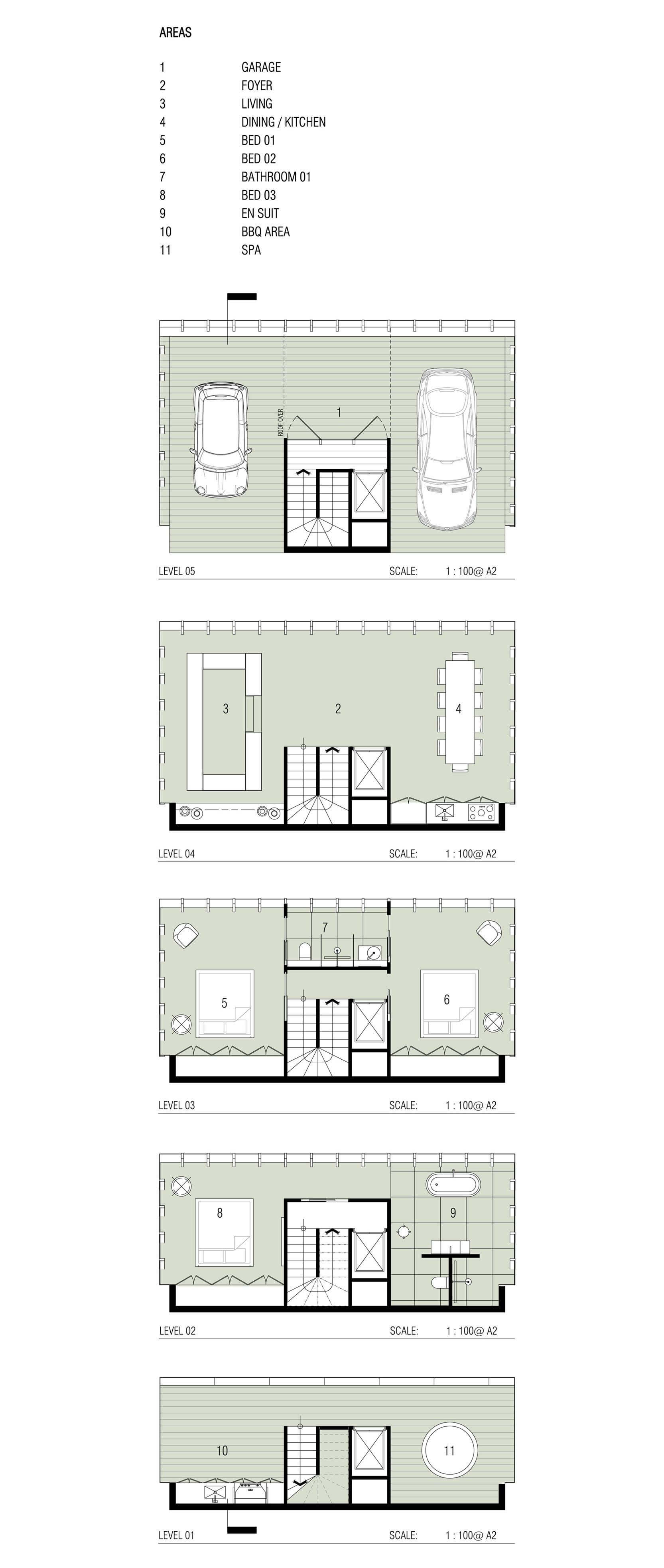 Modular House Design Concept  Cliff House by Modscape