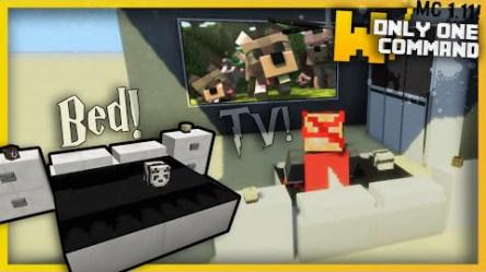 Modern Bedroom Furniture Command Block 1 11/1 10 2 Minecraft mod download