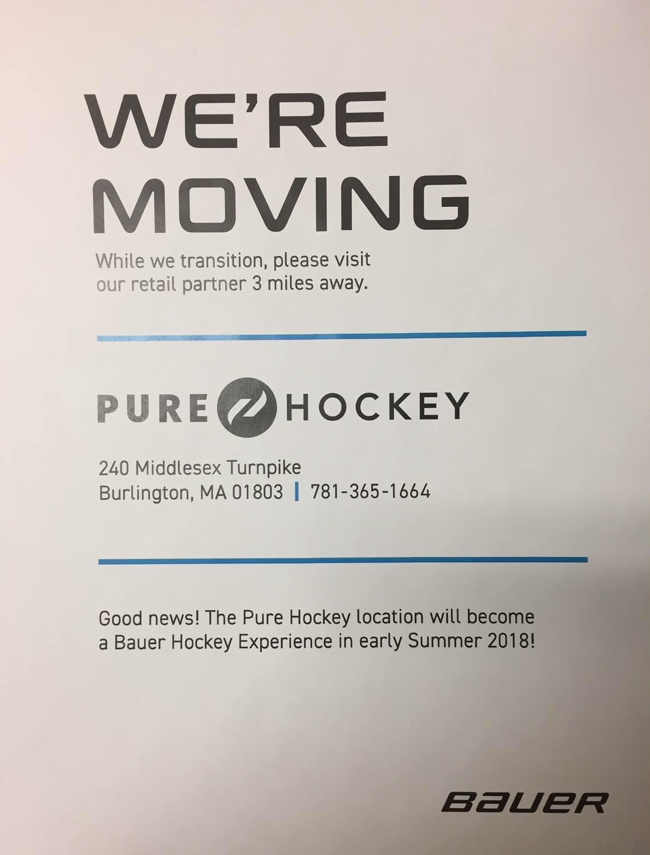 Bauer Store Burlington Ma : bauer, store, burlington, Bauer, Burlington, Closed?, Hockey, Locator, ModSquadHockey