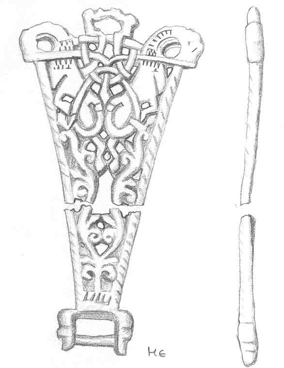 Harness Fitting (NLM168) · Vikings in the East Midlands