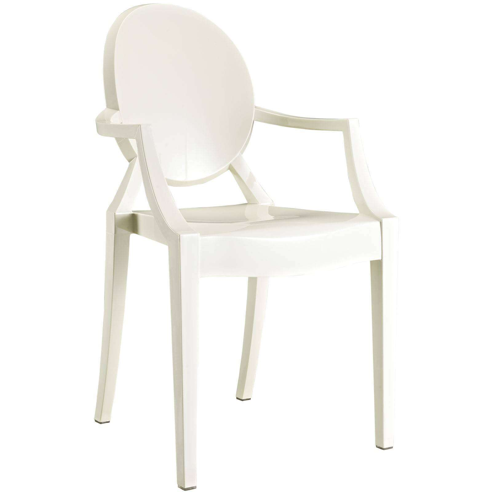Ghost Chairs Philippe Starck Style Louis Ghost Arm Chair