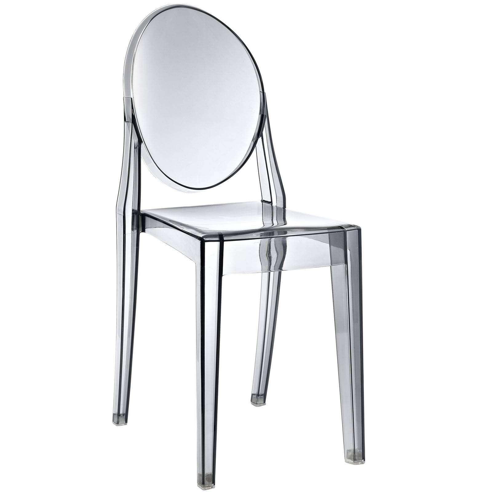 Ghost Chairs Philippe Starck Style Victoria Ghost Side Chair