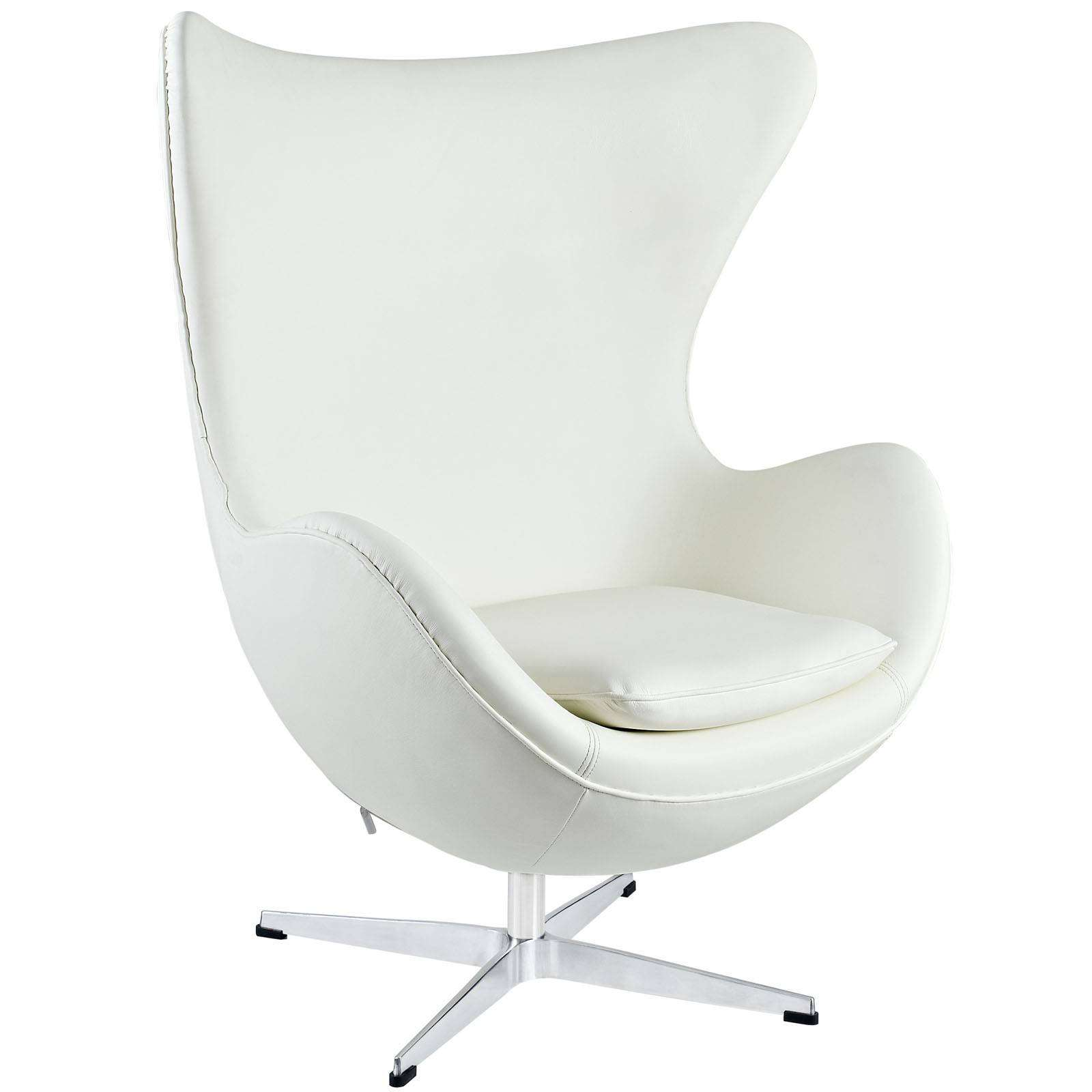 Chair Egg Arne Jacobson Style Egg Chair Leather