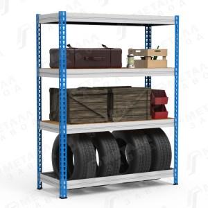 Складские стеллажи с нагрузкой на полку до 300 кг