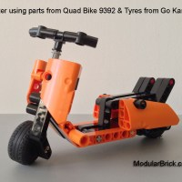 LEGO Technic Vespa Scooter