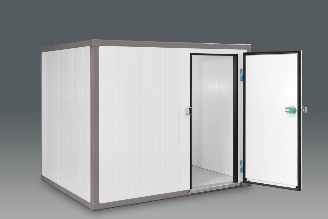 Modular cold rooms for large rooms