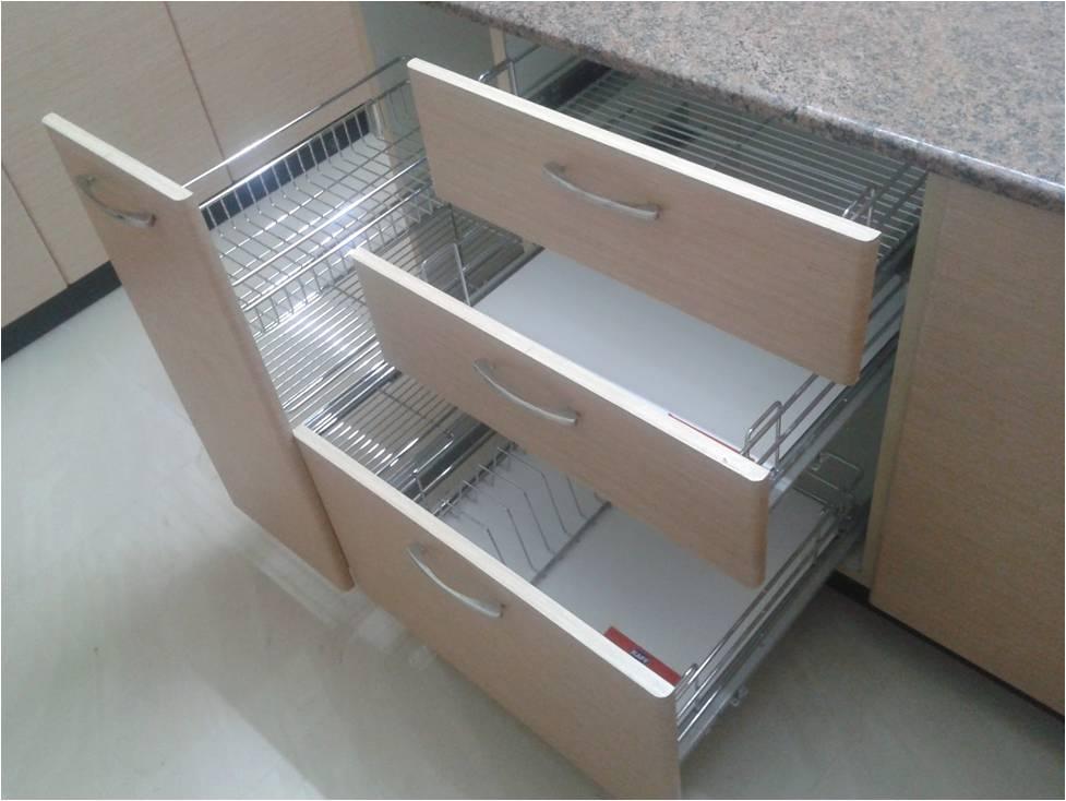 Modular Kitchen Basket Manufactures in Noida Delhi SS