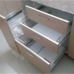 Kitchen Basket Stainless Steel Island Cart Modular Manufactures In Noida Delhi Ss Corner