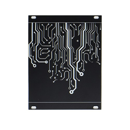 Eurorack Blank Panel 20HP Black