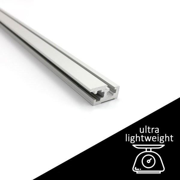 Lightweight Eurorack Rails