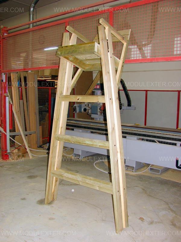 Vigilancia de madera