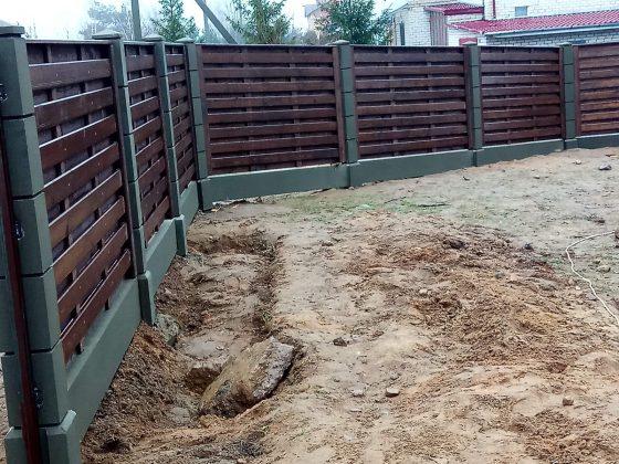 забор деревянное ранчо