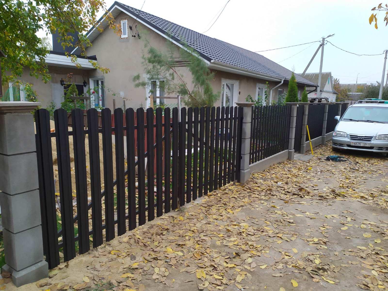 Купить модульный бетонный забор в Минске