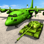 Army Tank Transport Plane Sim 1.6 APK MODs Unlimited money free Download on Android