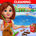 Big Home Cleanup and Wash House Cleaning Game 2.0.5 APK MODs Unlimited money free Download on Android