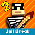 Cops N Robbers Pixel Prison Games 2 2.2.3 APK MODs Unlimited money free Download on Android