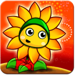 Flower Zombie War APK MODs Unlimited money free Download on Android