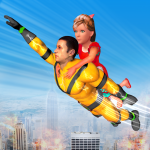 Light Speed Robot Hero Rescue Mission APK MODs Unlimited money free Download on Android