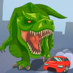 Jurassic Dinosaur City rampage 2.9 APK MODs Unlimited money free Download on Android