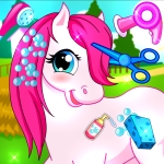 Horse Pet Salon 5.64.2 APK MODs Unlimited money free Download on Android