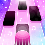 Magic Pink Tiles Piano Game 1.0.0 APK MODs Unlimited money free Download on Android