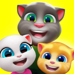 My Talking Tom Friends 1.6.0.32 APK MODs Unlimited money free Download on Android