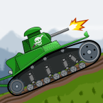 Tank Battle War 2d game free 1.0.4.4 APK MODs Unlimited money Download on Android