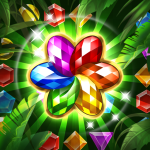 Jungle Gem Blast Match 3 Jewel Crush Puzzles 4.3.5 APK MODs Unlimited money Download on Android