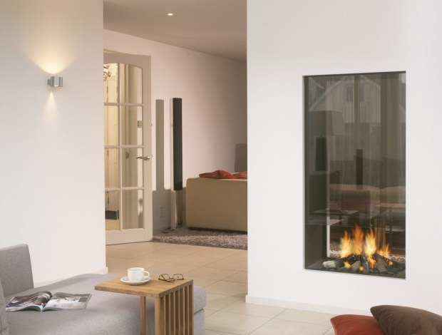Two Sided Fireplaces - Home Design Ideas