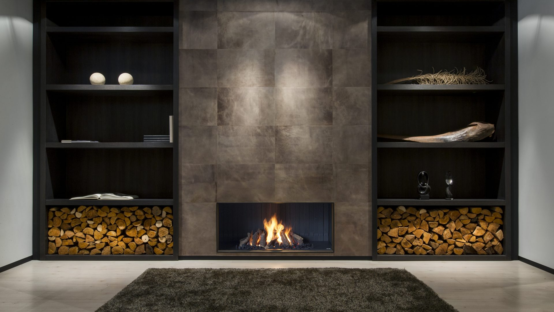 Contemporary Designer Luxury  Modern Fireplaces