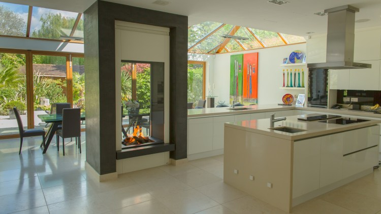 Double Sided Fireplace Collections Modus Fireplaces