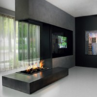 Double Sided Fireplace I Two Sided Fireplace I Tunnel ...