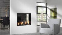 Balanced Flue Gas Fire I Double Sided Fire