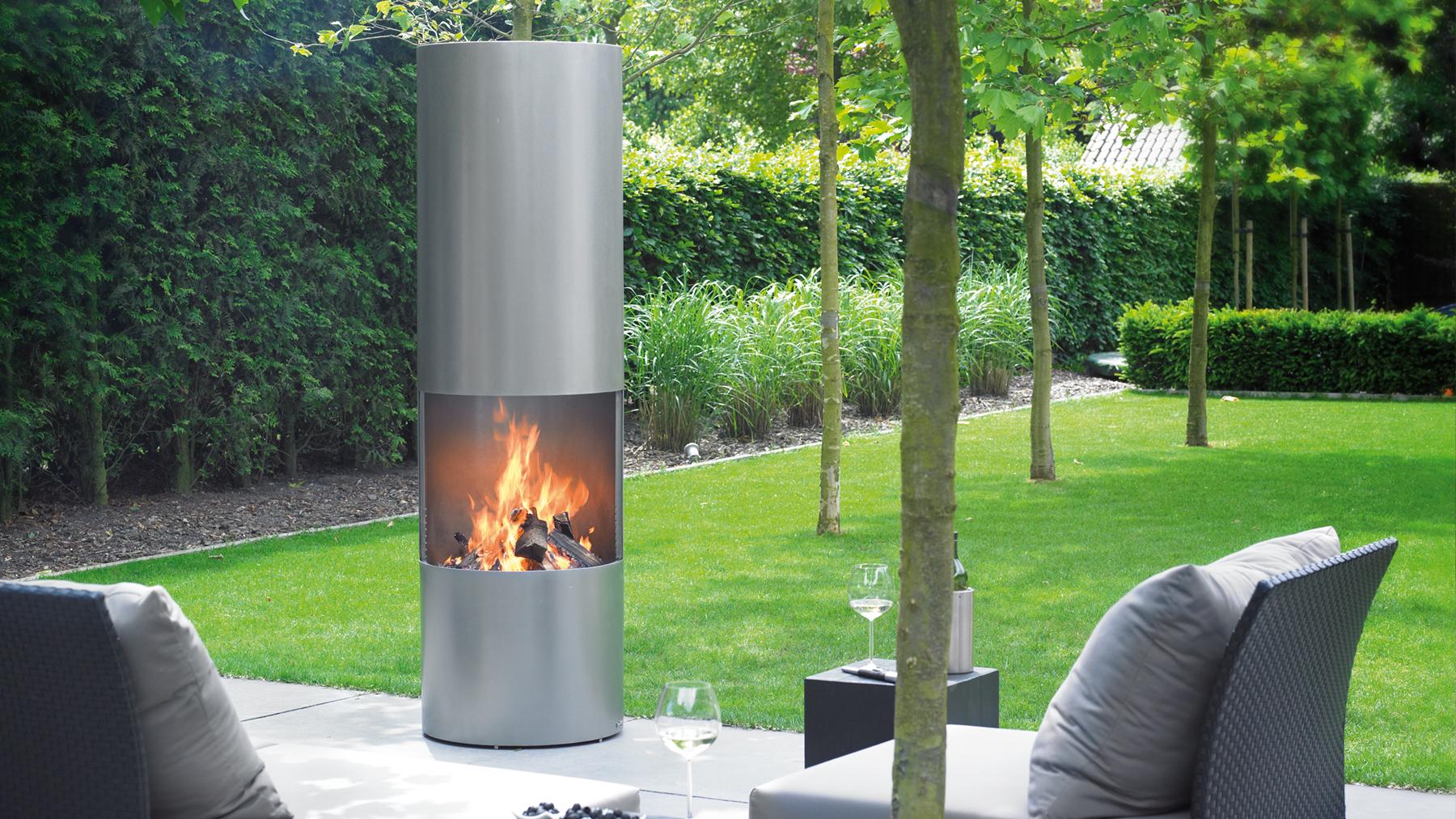 natural gas vs propane outdoor modern