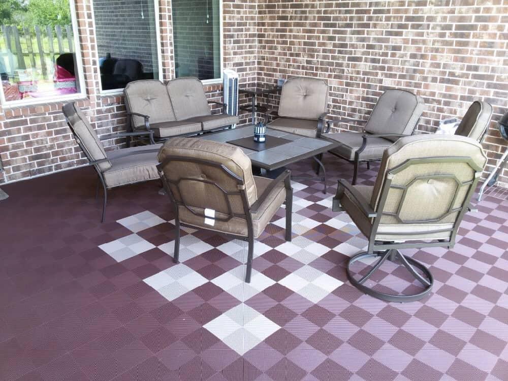 perforated interlocking patio tiles outdoor made in usa modutile